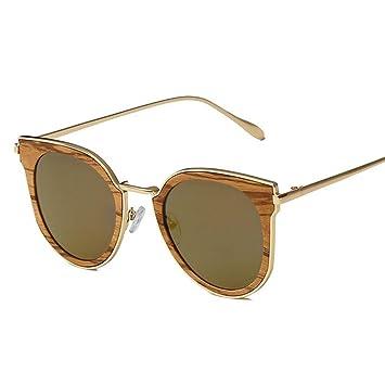 YANKAN Gafas de Sol para Hombres y Mujeres-Bambú Puro Hecho a Mano Gafas de