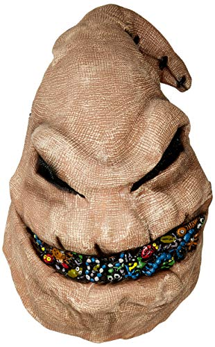 Disguise Men's Oogie Boogie Vinyl Mask, Multi One Size -