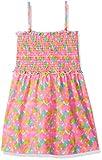 Freestyle Revolution girls  Heart Smocked Dress Casual Dress  -  multi -