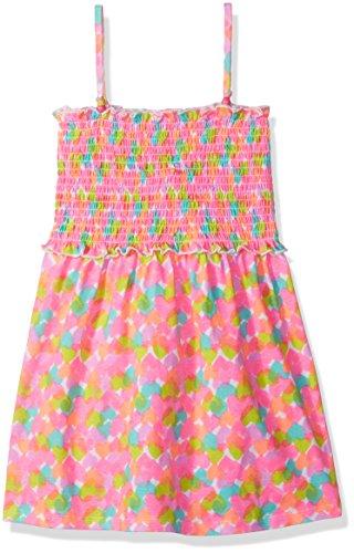 Freestyle Revolution Little Girls' Heart Smocked Dress, Multi, 5