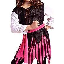Caribbean Pirate Girl Child Costume Size 12-14