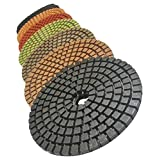 "Stadea PPW200A Diamond Polishing Pads Concrete Marble Granite Stone Wet Polishing 4"" Kit"