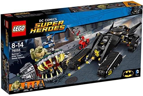 LEGO-Super Heroes Set Costruzioni Batman: Duello Nelle Fogne con Killer C, 76055