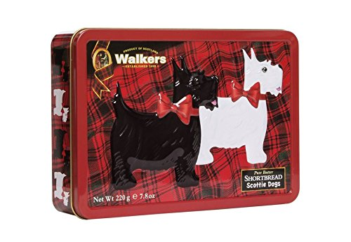 Walkers Shortbread Tin, Scottie Dog, 7.8 Ounce ()