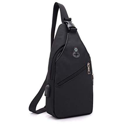 Amazon.com   SHEVENS Canvas Sling Bag f84486d6c4589
