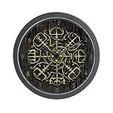 CafePress - Nordic Guidance - Viking Comp - Unique Decorative 10'' Wall Clock