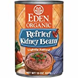 Eden Organic Refried Kidney Beans, 15-Ounce Cans (Pack of 12)