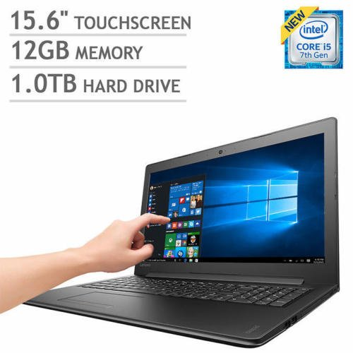 "Price comparison product image Lenovo Ideapad 310 15.6"" Touchscreen Laptop Intel i5-7200U 
