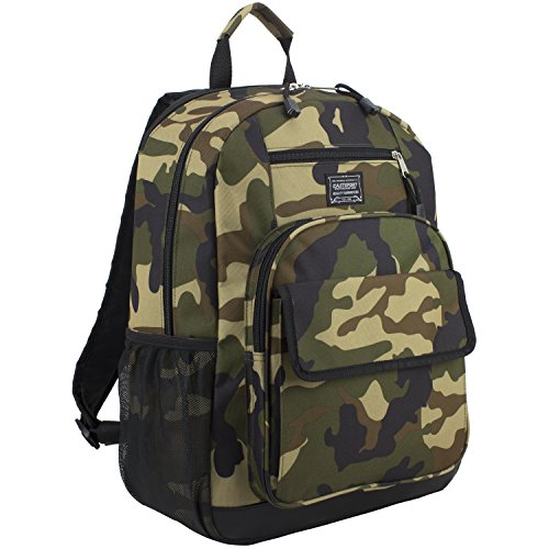 Eastsport Tech Backpack, Black/Army Camo