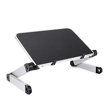 ANAN Ordenador portátil de aleación de Aluminio Portátil Plegable ...