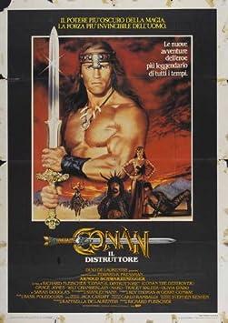66869 Conan the Destroyer Movie Arnold Schwarzenegger Decor Wall Print POSTER