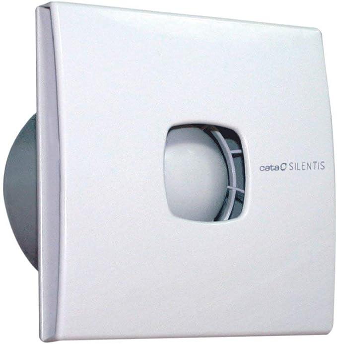 CATA SILENTIS 12 Blanco - Ventilador (Blanco, Techo, Pared, De plástico, 39 dB, 2450 RPM, 190 m³/h): Amazon.es: Hogar