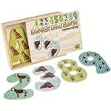 Rainforest Animal Wooden Counting Puzzle