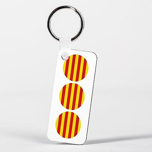 Catalunya Catalan Flag Bandera Català Spanish Española Catalán Llavero: Amazon.es: Hogar