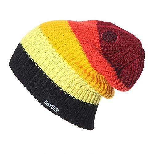 New Snowboard Winter Ski Hats Beanies (Wool Knitted) Head Warm for Men Woman gorros de Lana ()