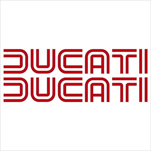 (Crawford Graphix Ducati Lines Decals Stickers - Ducati 1098 Superbike 999 749 848 Monster Hypermotard 1100 996 Sport Touring (6