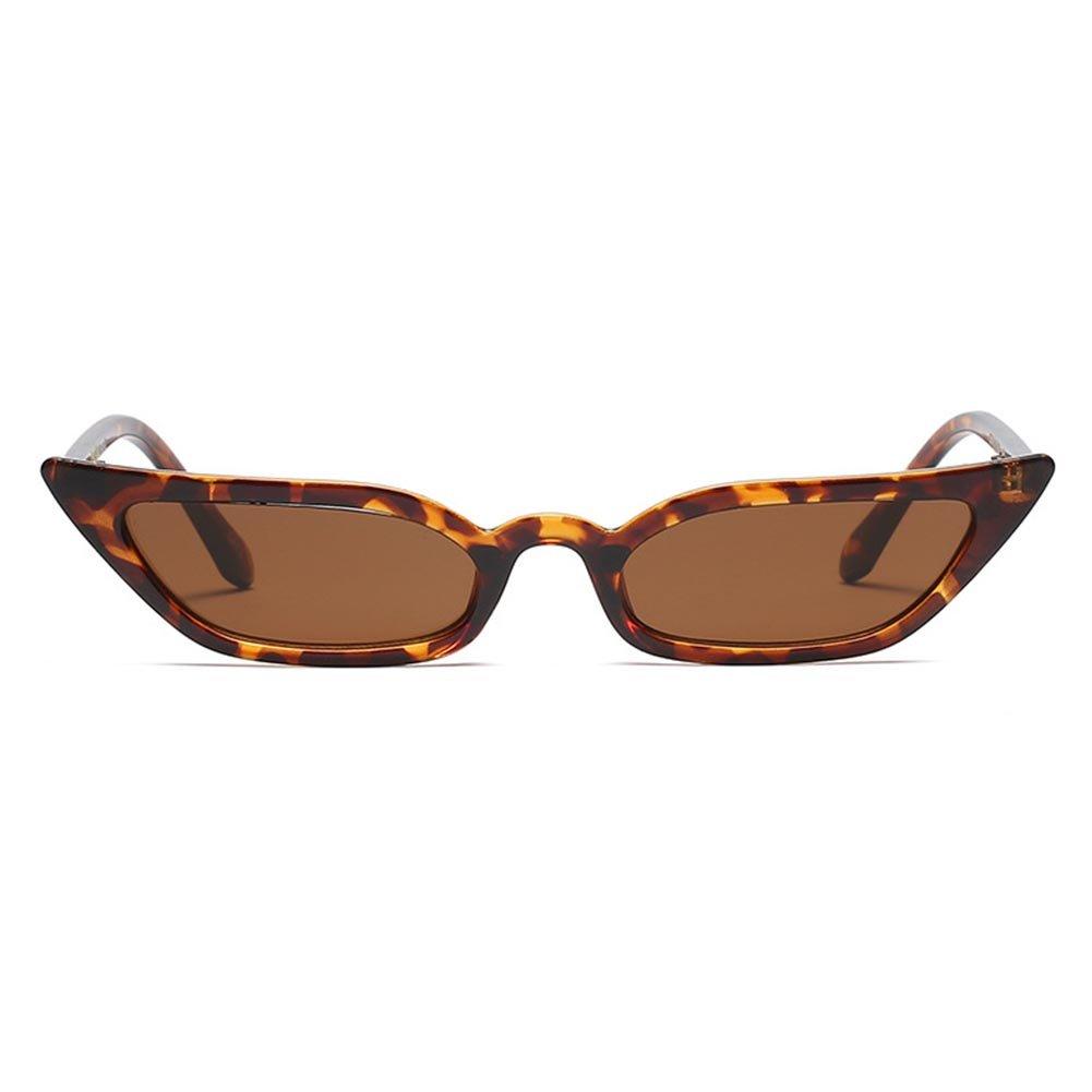 hibote Lunettes de soleil Femmes Cat Eyes Fashion Lunettes papillon Elegant Flat Goggle C2 mkSLk