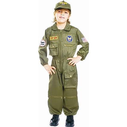 Dress Up America Disfraz de Pilotoo de la Fuerza aérea de niños