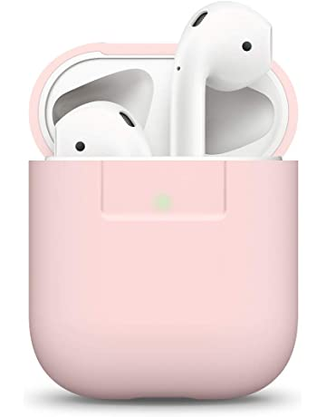 elago Funda AirPods Silicona Compatible con Apple AirPods 1 & 2 (LED Frontal Visible)