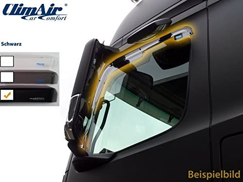 Vordere Windabweiser 1 Set Für Die Fahrer Und Beifahrerseite Cls0046062d Passend Für Scania R Reihe 2004 2016 T Reihe 2004 2016 P Reihe 2004 2016 Auto