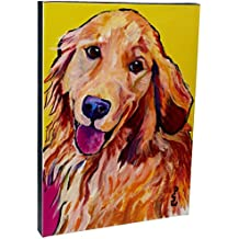Molly by Pat Saunders-White, 14x19-Inch Canvas Wall Art