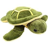 ANVIT Toy World Tortoise Fur Cloth Soft Toy Turtle (Green & Yellow) (80 cm)