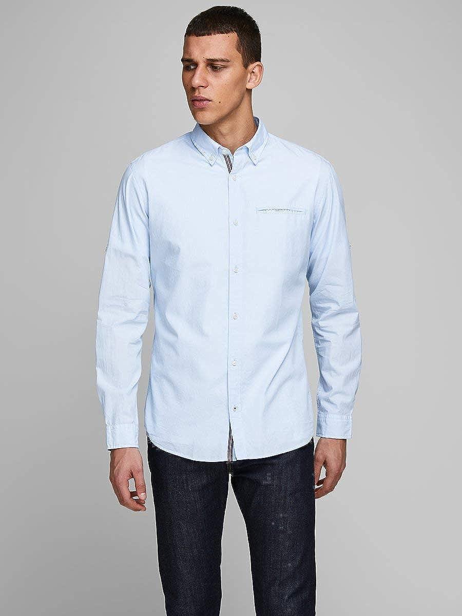 Jack /& Jones Camisa Abotonada para Hombre
