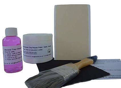 1 X Cream Finley Textured Anti Slip Repair Kit For Cracked Or
