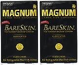 Trojan Magnum Bareskin Lubricated Condoms QQqtkx, 20 Count