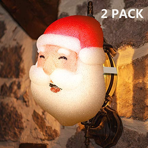 Outdoor Snowman Light Covers in US - 6