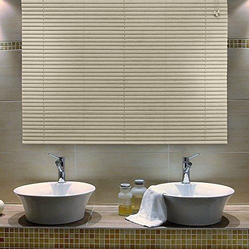Persiana Horizontal de PVC- 1,20x1,60m - Maple – Wood Evolux