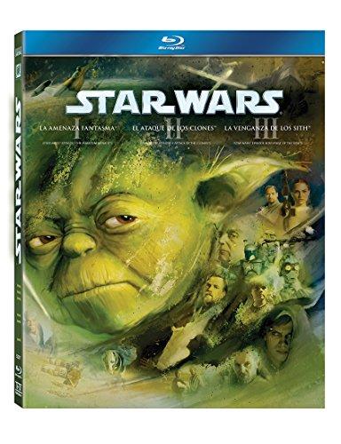 Star Wars: La Trilogia Precuela (Episodios I, II, III) [Blu-ray]