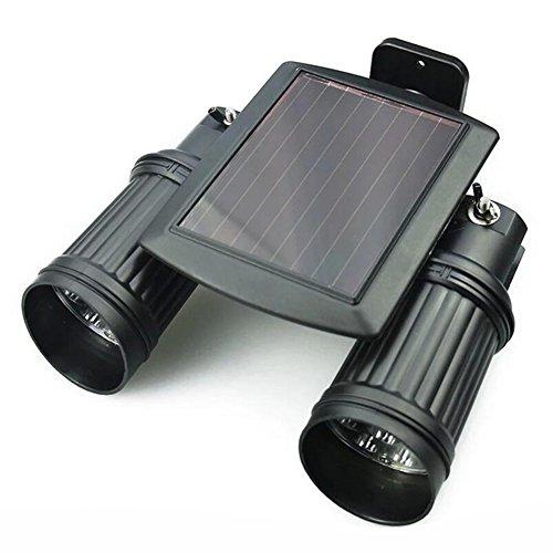 200LM 30 LEDs Solar Powered Wall Light PIR Motion Sensor Lamp - 3