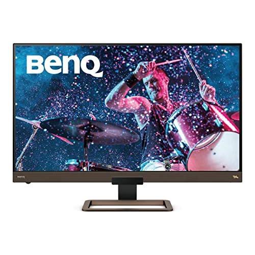 chollos oferta descuentos barato BenQ EW3280U Monitor de 32 4K UHD 3840x2160 5 ms 60 Hz HDMI USB C DCI P3 HDR 400 Altavoces Mando a Distancia FreeSync Marron Negro metálico