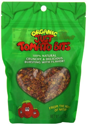 Karen's Naturals Just Tomatoes, Organic Just Tomato Bits 4 Ounce Pouch (Packaging May Vary)