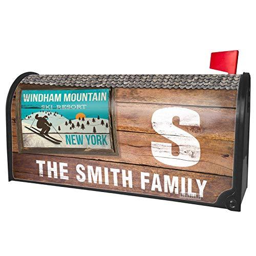 (NEONBLOND Custom Mailbox Cover Windham Mountain Ski Resort - New York Ski Resort)