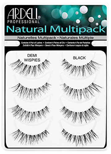 d2131fe693f Ardell Professional Demi Wispies Natural Multipack (4 Pairs of Lashes):  Amazon.co.uk: Beauty