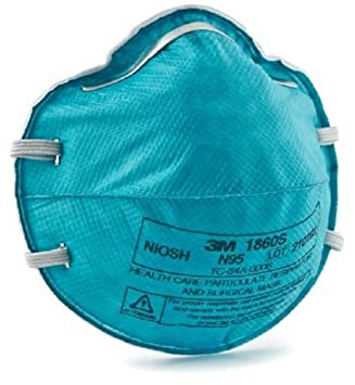 3m Cup Care N95 Surgical Particulate And 1860s Health Respirator
