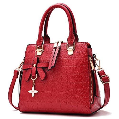 GUANGMING77 _Bag Tasche Tasche Messenger Schulter Hugh Tide Juncai wine red bag 954gX31