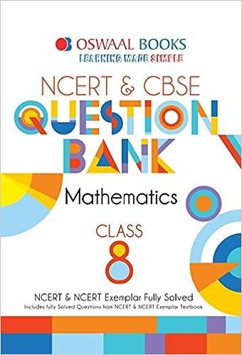 Oswaal NCERT & CBSE Question Bank Class 8 Mathematics For