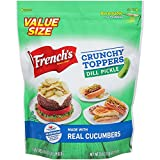 #2: French's Crunchy Toppers Dill Pickle 20 oz.