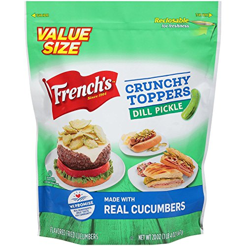French's Crunchy Toppers Dill Pickle 20 oz.