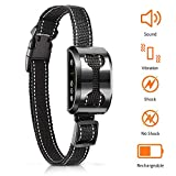 [Newest 2018 Upgraded] Anti Bark Dog Collar Beep, Vibration, Harmless Shock Modes - 4 Training Modes - USB Rechargeable Battery - #1 Trainer Recommended XS/Small/Medium/Large Size Dogs – Weatherproof