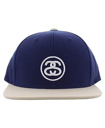 Stussy SS-Link FA 17 Cap Men s Blue (OSFM) at Amazon Men s Clothing ... 5f04e4c6e33