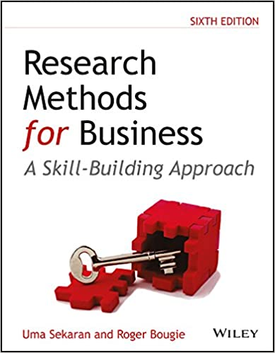 Research Methods For Business: A Skill-Building Approach, 6Ed