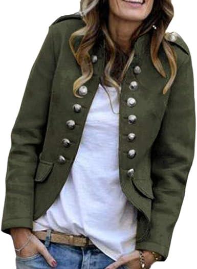 chaquetas militares para mujer