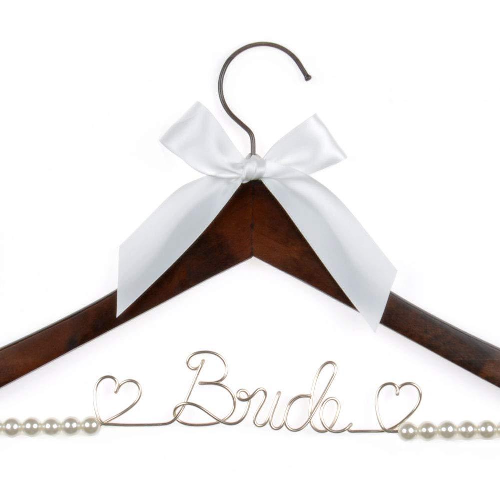 Wedding Dress Hanger.Wedding Dress Hanger Bride Hanger Wire Hanger Bridal Gift