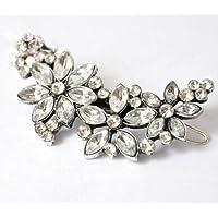 Womens Rhinestone Flower Headband Hair Clip Pin Comb Bridal Wedding Gift Jewely LOVE STORY