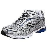 Cheap Saucony Men's ProGrid Triumph 6 Running Shoe,Silver/Royal,8.5 M