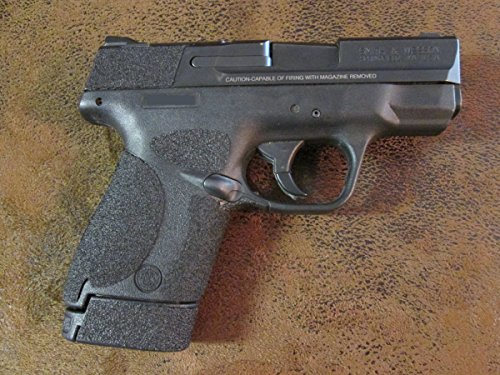 Sand-Paper-Pistol-Grips' (Brand) - SRG70 Peel and Stick Grip Enhancements for The Smith and Wesson M&P Shield 9mm and .40 Caliber
